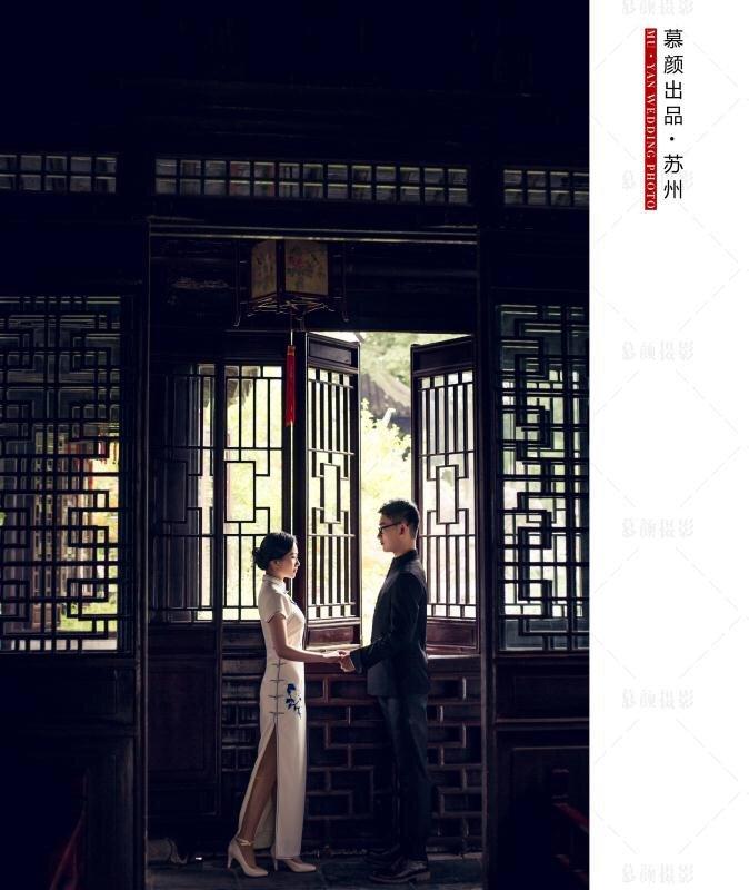 我的苏州特色的婚纱照 老公 公公婆婆最喜欢