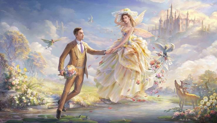 """油画?AR?VR?——""""婚纱照""""的新奇玩法全在这"""