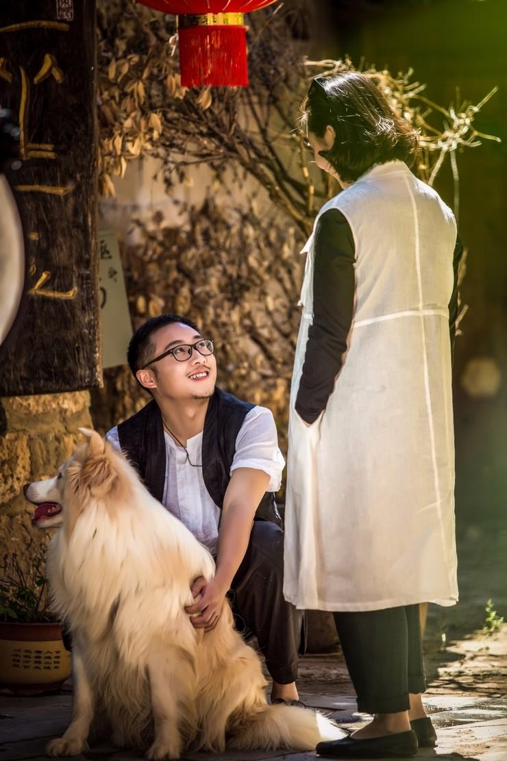 大片来了!带上宠物去丽江邂逅醉美婚纱照