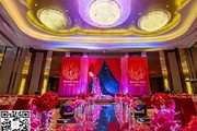 婚庆现场布置时如何选择颜色搭配?