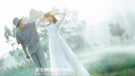 大理丽江婚纱摄影哪家好前十名【浮生映像】婚纱照