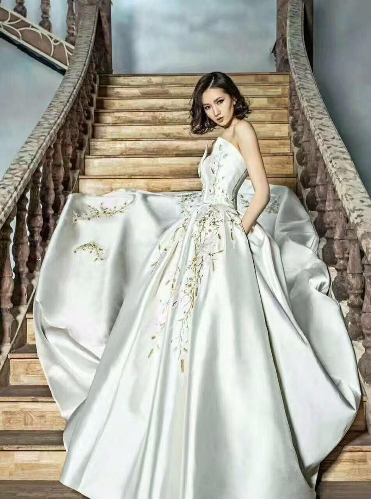 王妃婚纱礼服高端定制