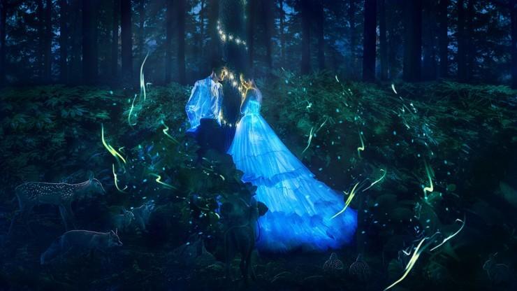 会发光的婚纱,圆你一场梦幻婚礼梦!