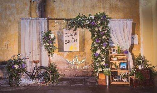 森系婚礼,给婚礼来点小清新