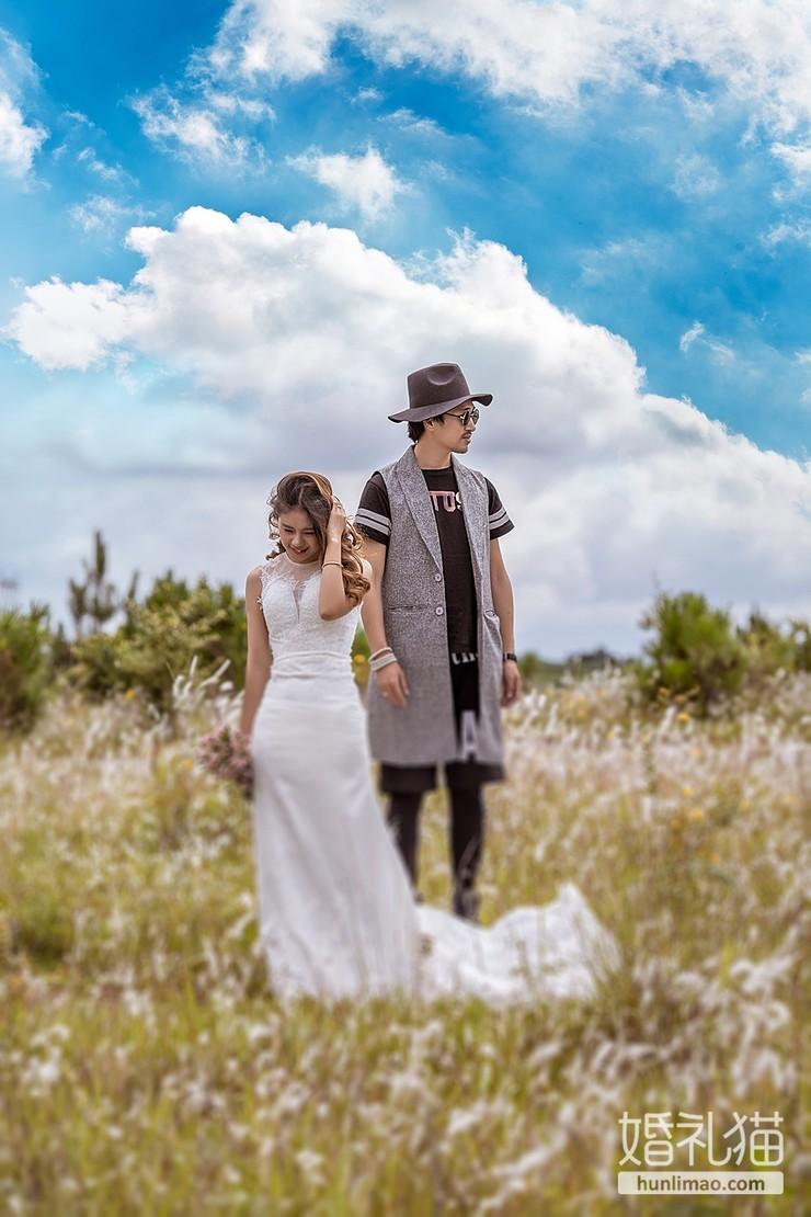 婚纱摄影师是怎么给自己拍婚纱照的?今天真相了!
